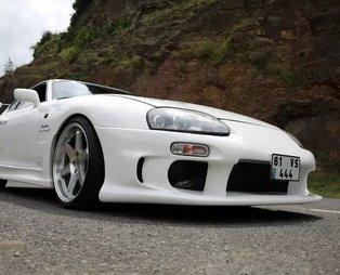 Aracın markasına ve gücüne bakın! 126 bin liraya aldığı spor arabayı 700 bin lira harcayarak modifiye etti!