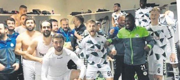 Konyaspor'da büyük coşku