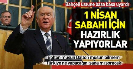 Son dakika: MHP lideri Bahçeli'den önemli açıklamalar