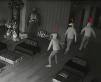 Aynada kendilerini gören hırsızlar...