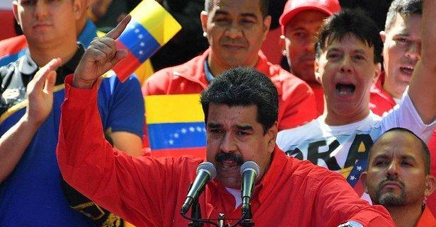Maduro'dan flaş Kolombiya açıklaması