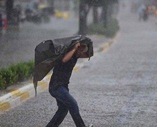 Meteoroloji uyardı Sağanak yağış geliyor 21 Temmuz hava durumu
