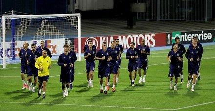 Fenerbahçe D.Zagreb maçına hazır