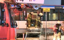 Topkapı-Mescid-i Selam Tramvayı'nda yangın