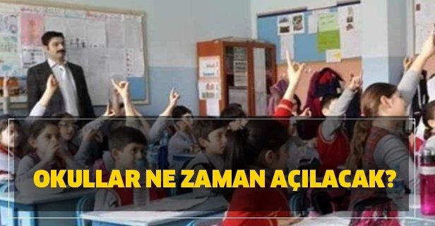 Okullar ne zaman açılıyor 2020? 1 Haziran'da okullar açılacak mı? MEB