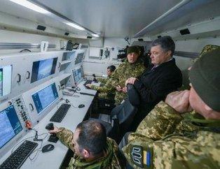 Poroşenko, Milli gururumuz Bayraktar TB2 İnsansız Hava Aracı'nı karargâhtan takip etti