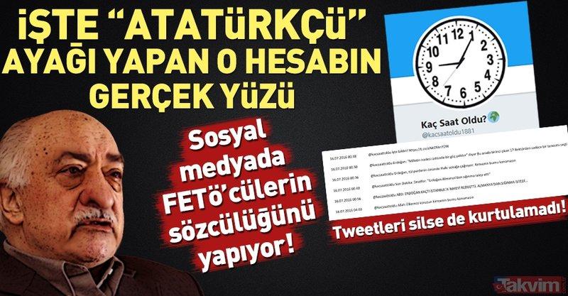 İşte FETÖ'cülerin sosyal medyadaki sözcüsü!