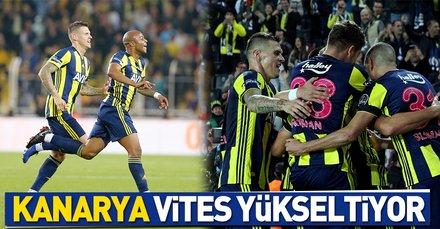 Kanarya vites yükseltiyor | Fenerbahçe: 2 - A.Alanyaspor: 0 Maç sonucu