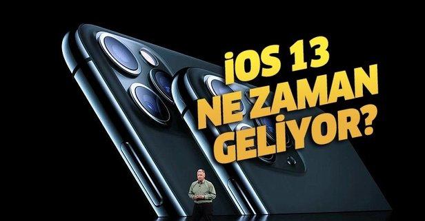 iOS 13 güncellemesi alacak telefonlar neler?