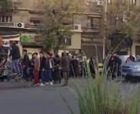 Suriye'den insanlık dışı görüntü!