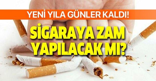 Ocak 2021 sigara fiyatları ne kadar oldu?