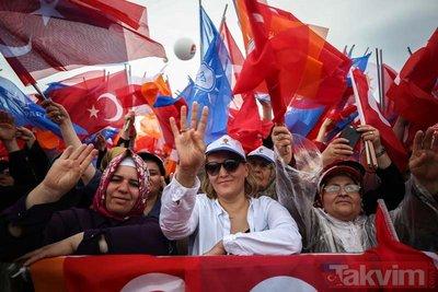 AK Parti'nin 'Büyük İstanbul Mitingi' için milyonlar Yenikapı'ya akın ediyor!