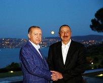 Gardaş Aliyevden Erdoğana 29 Ekim mesajı