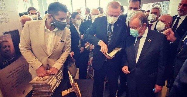 Erdoğan'dan Guterres'e hediye!