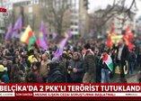 Belçika'da 2 PKK'lı terörist tutuklandı (Video)