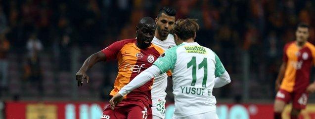 Lidere Bursaspor freni | Galatasaray:1 - Bursaspor:1 Maç sonucu