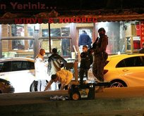 Beyoğlu'nda restorana kurşun yağmuru