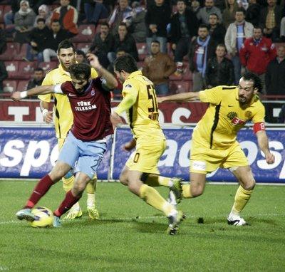 Trabzonspor - Eskişehirspor: 0-3