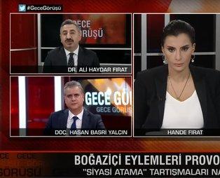 Sabah Gazetesi yazarı Hasan Basri Yalçın'dan YOL TV'nin 'aşağı bak' yalanını sürdüren CHP'li Ali Haydar Fırat'a canlı yayında ders!