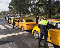 Türkiye genelinde taksi ve vale denetimi