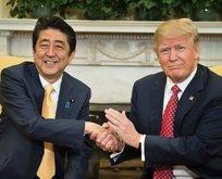 ABD ve Japonya, Kore'ye karşı birleşti