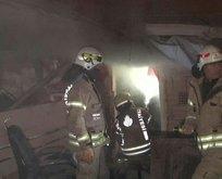 Ataşehir'de kısıtlama sabahı yangın paniği!
