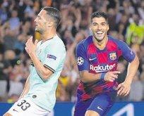 Barcelona Inter'i Suarez ile devirdi: 2-1