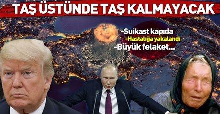 2019 kehanetleri korkunç! Baba Vanga'nın korkunç 2019 kehanetleri! Türkiye ve Donald Trump...