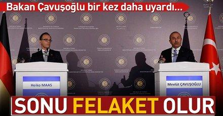 Dışişleri Bakanı Çavuşoğlu: Rusyaya saldırıların yanlış olduğunu ilettik