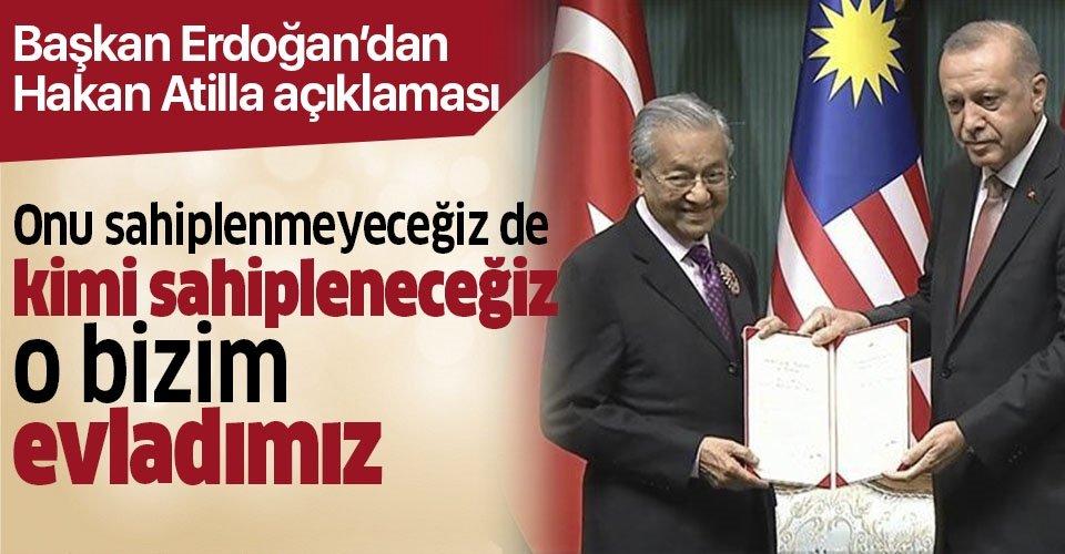 Son dakika... Başkan Erdoğan'dan Hakan Atilla açıklaması