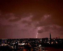 İstanbul'da hava trafiğine yağış engeli!