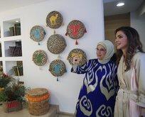 Emine Erdoğan, Rania el-Abdullah ile görüştü