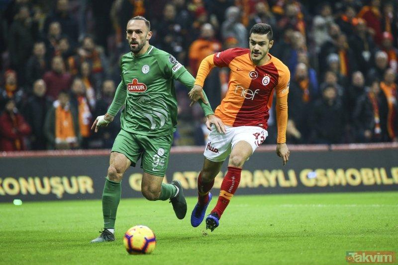 Aslan, Rize'ye takıldı! (MS: Galatasaray 2-2 Ç.Rizespor)