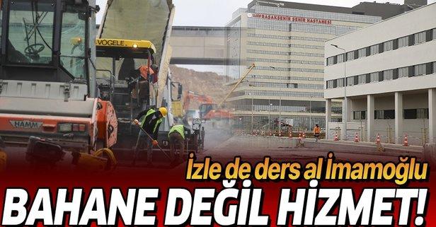 Erdoğan talimatı vermişti! Havadan görüntülendi