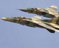 Libya'da savaş uçağı düştü