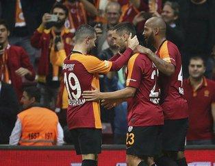 İşte Galatasaray-Sivasspor maçından kareler...