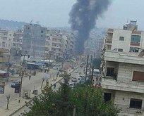 Afrin'de bomba yüklü araçla terör saldırısı