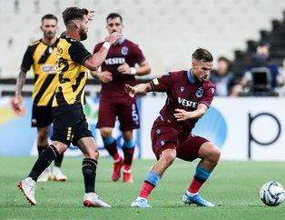 Yunanistan'da Ekuban'dan gol şov! AEK 1-3 Trabzonspor | Maç sonucu