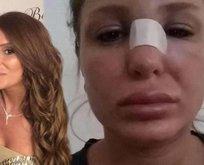 Berk Oktay'ın eşi: Kocam beni dövdü