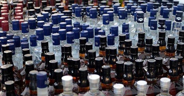 Çorum'da binlerce litre sahte içki ele geçirildi!