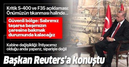 Başkan Erdoğan, güvenli bölge konusunda net konuştu: Sabrımızı taşırmayın