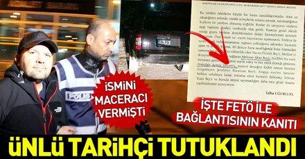 Son dakika: Ünlü tarihçi Talha Uğurluel FETÖ'den tutuklandı! Talha Uğurluel kimdir?