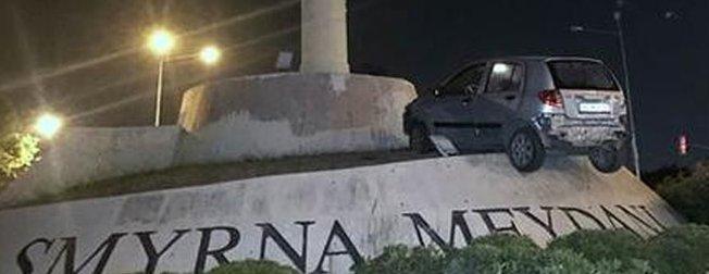 İzmirdeki kazayı görenler hayret etti