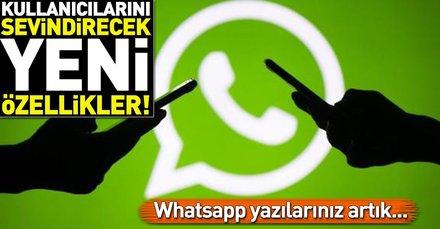 Whatsappa yeni özellik geliyor! Whatsapp mesajlarınız artık...