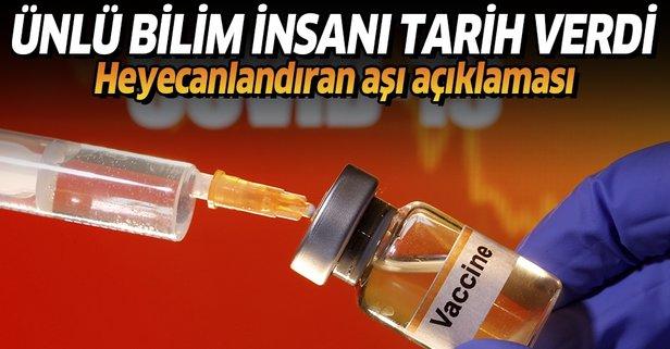 Koronavirüs aşısında umutlandıran haber