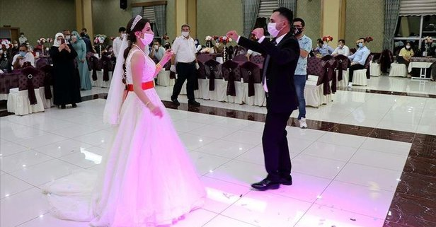 Malatya'da düğünlere Kovid-19 ayarı