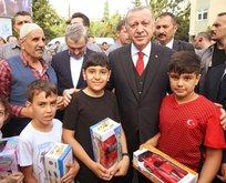 Başkan Erdoğan'a sevgi seli