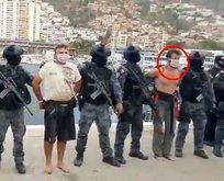 Darbe için gelen ABD askerlerini tutukladılar