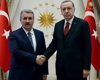 Cumhurbaşkanı Erdoğandan Destici ile ittifak görüşmesi