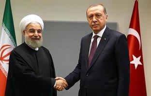 Başkan Erdoğan Ruhani ile görüştü!